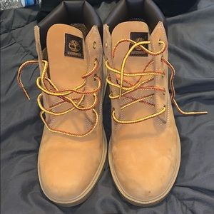 Brand new tan timberlands